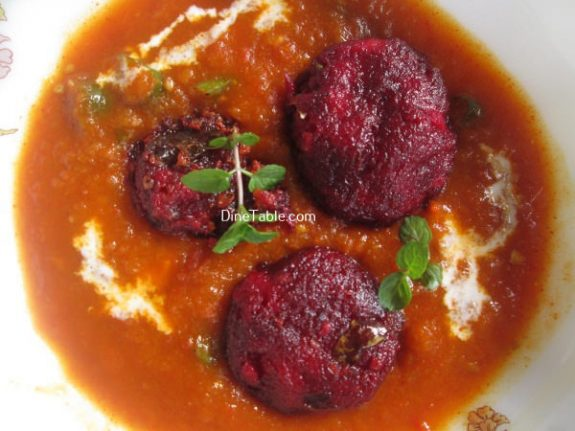 Beetroot Kofta Curry Recipe / Good Curry