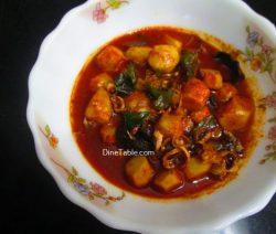 Chembu Mulakittathu Recipe / Quick Curry