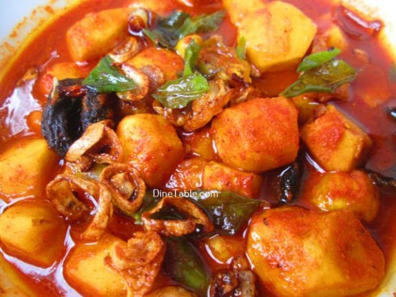 Chembu Mulakittathu Recipe / Healthy Curry