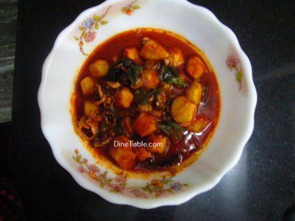 Chembu Mulakittathu Recipe / Delicious Curry