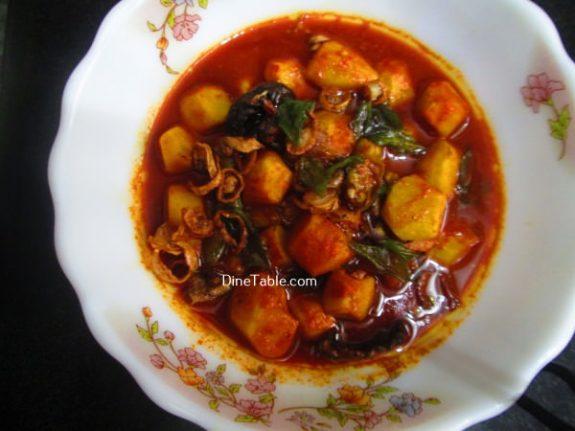 Chembu Mulakittathu Recipe / Kerala Curry