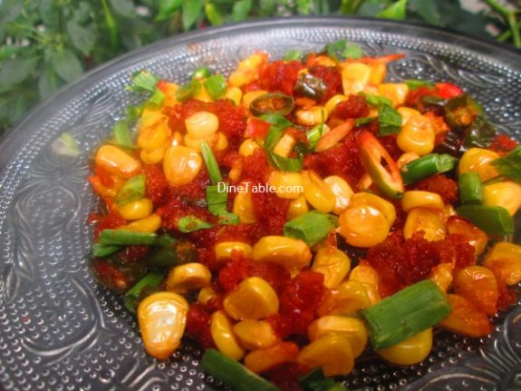 Crispy Corn Recipe - Spicy Snack
