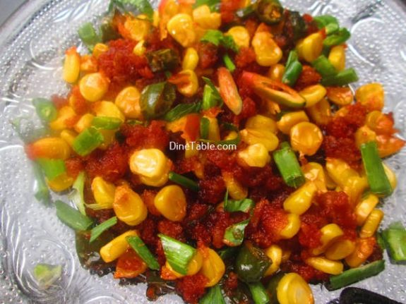 Crispy Corn Recipe - Evening Snack