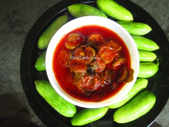 Kovakka Pickle Recipe / Spicy Pickle