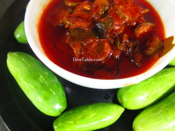 Kovakka Pickle Recipe / Healthy Pickle