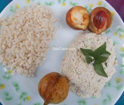 Nutmeg Fruit Chammanthi Recipe / Healthy Chammanthi