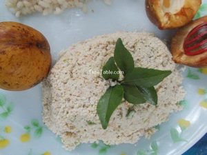 Nutmeg Fruit Chammanthi Recipe
