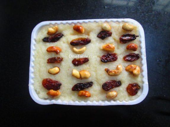 Sooji Halwa Recipe / Homemade Halwa
