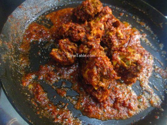 Chicken Ghee Roast Recipe / Roast Dish