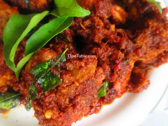 Chicken Ghee Roast Recipe / Crunchy Dish