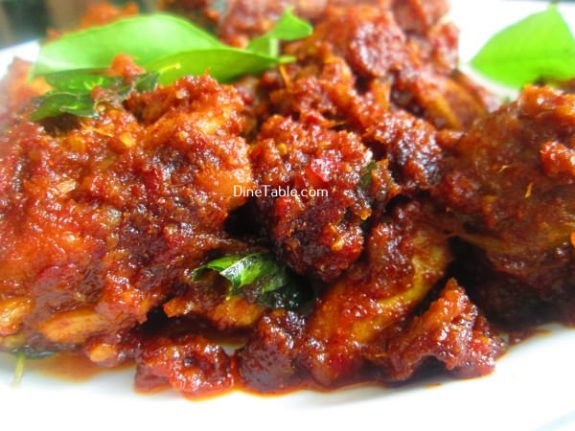 Chicken Ghee Roast Recipe / South Indian Dish