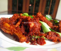Chicken Ghee Roast Recipe / Ghee Roast Dish