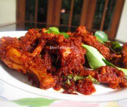 Chicken Ghee Roast Recipe / Ghee Roast Dish