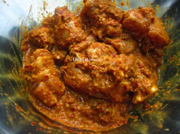 Chicken Ghee Roast Recipe / Ghee Dish