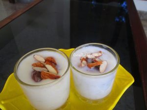 Chowari Payasam Recipe