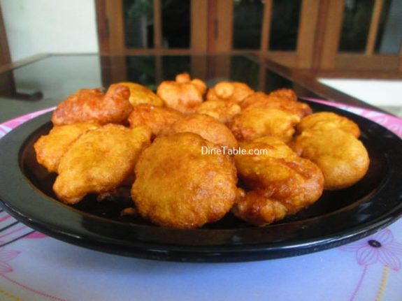 Maida Cheamb Appam Recipe / Evening Snack
