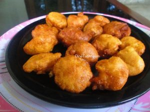 Maida Cheamb Appam Recipe