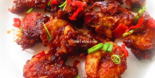 Saucy Prawns Recipe / Quick Dish