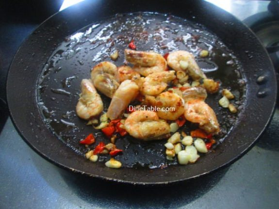 Saucy Prawns Recipe / Sour Dish