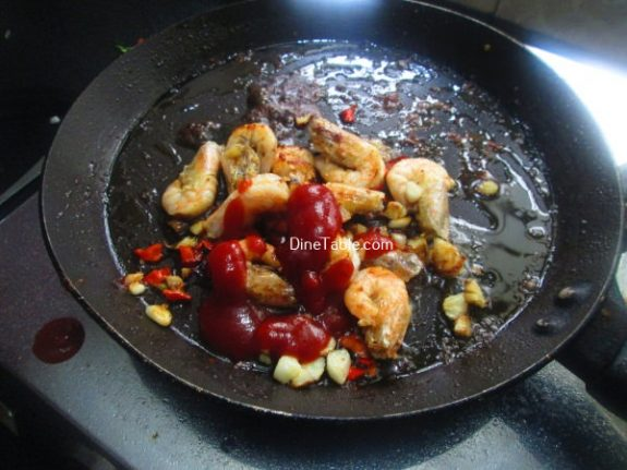 Saucy Prawns Recipe / Saucy Dish