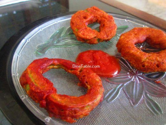 Snake Gourd Bajji Recipe / Vegetarian Bajji