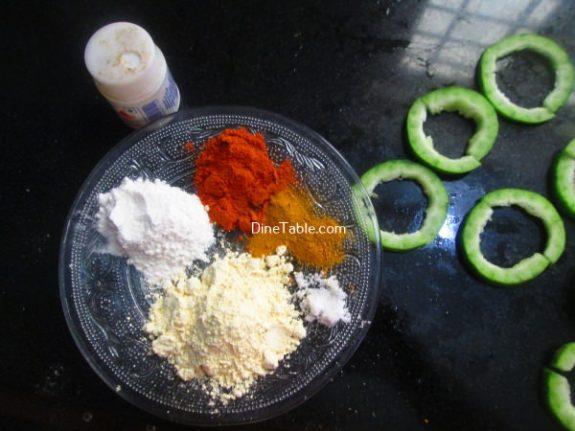 Snake Gourd Bajji Recipe / Homemade Bajji
