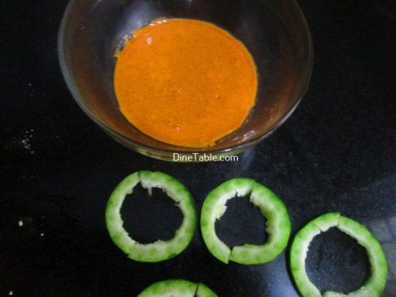 Snake Gourd Bajji Recipe / Delicious Bajji