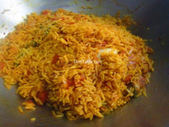 Tomato Egg Rice Recipe / Tomato Egg Dish