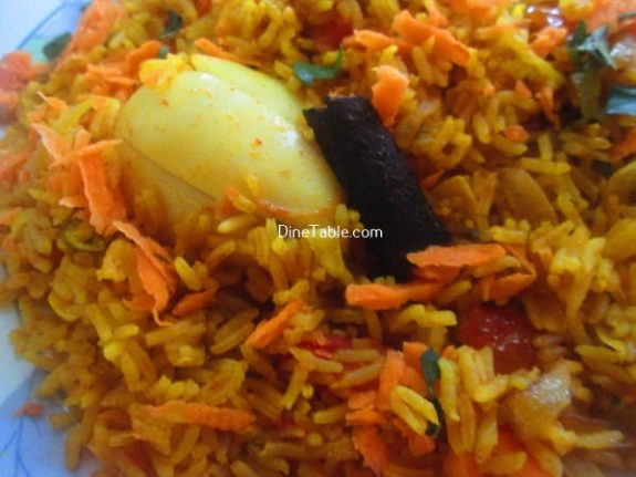 TTomato Egg Rice Recipe / Rice Dish