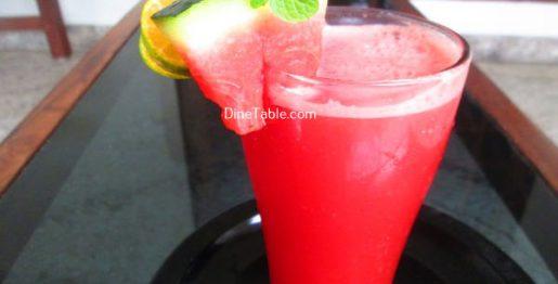 Watermelon Lemonade Recipe / Simple Drink