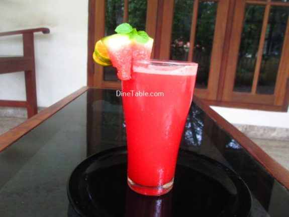 Watermelon Lemonade Recipe / Nutritious Drink