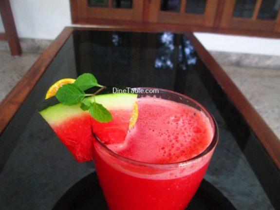 Watermelon Lemonade Recipe / Homemade Drink