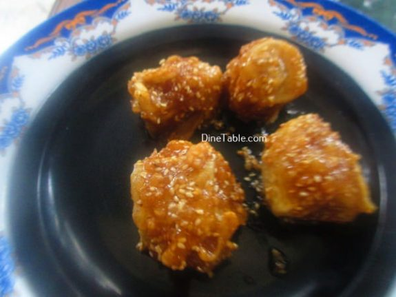 Banana Toffee Recipe / Fried Dish