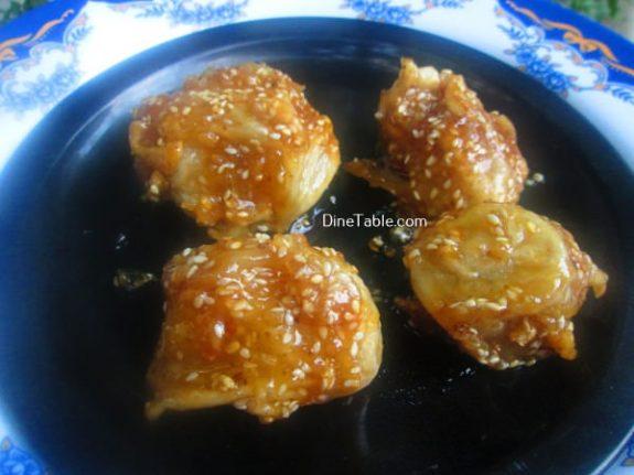 Banana Toffee Recipe / Chinese Dish