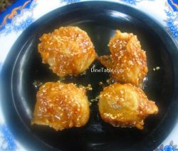 Banana Toffee Recipe / Banana Dish