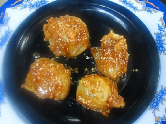 Banana Toffee Recipe / Tasty Dish