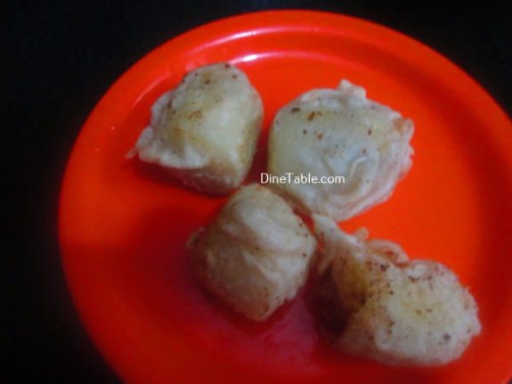 Banana Toffee Recipe / Deep Fried Dish