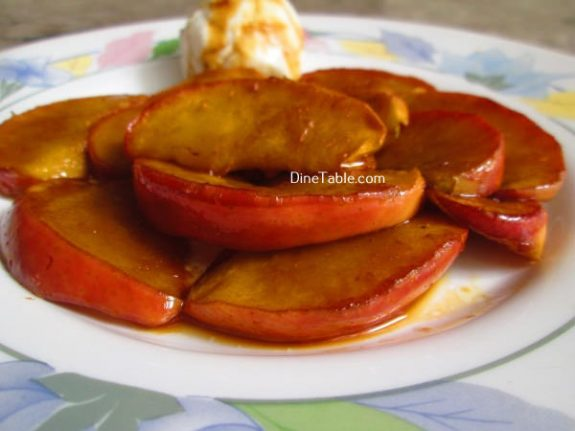Caramelized Apple Recipe / Tasty Dish