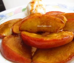 Caramelized Apple Recipe / Quick Dish
