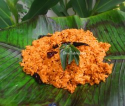 Chammanthi Rice Recipe / Vegetable Rice