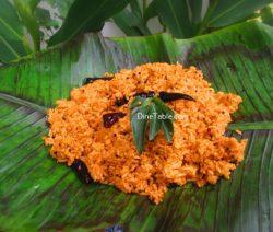 Chammanthi Rice Recipe / Vegetable Rice