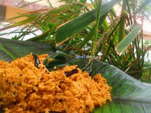 Chammanthi Rice Recipe