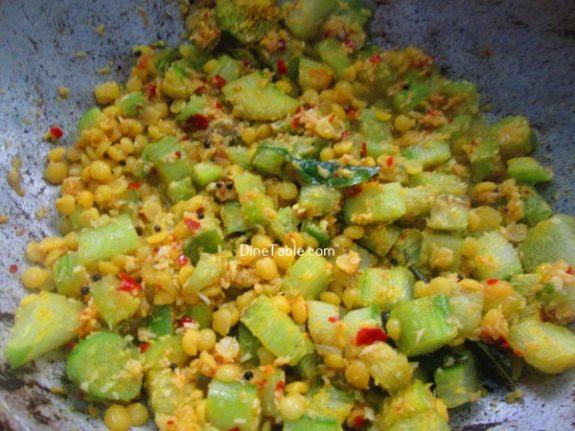 Chembin Thal Parippu Thoran Recipe / Nutritious Thoran
