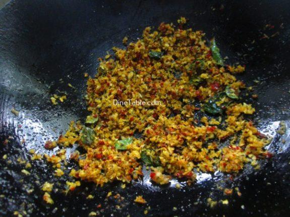 Purple Cabbage Thoran Recipe / Nutritious Thoran