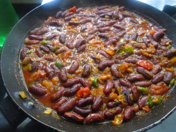 Rajma Masala Curry Recipe / Vegetable Dish