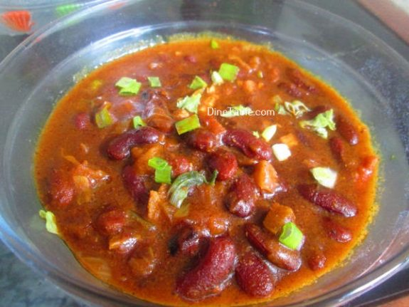Rajma Masala Curry Recipe / Homemade Dish