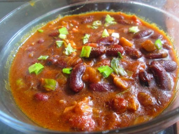 Rajma Masala Curry Recipe / Nutritious Dish