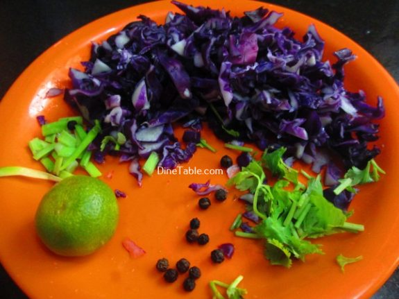 Red Cabbage Detox Salad Recipe / Simple Salad