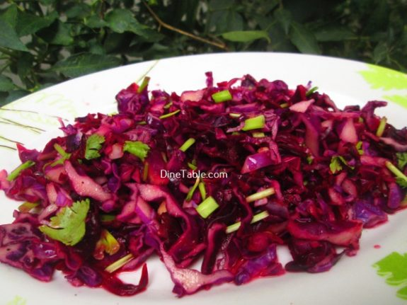 Red Cabbage Detox Salad Recipe / Yummy Salad