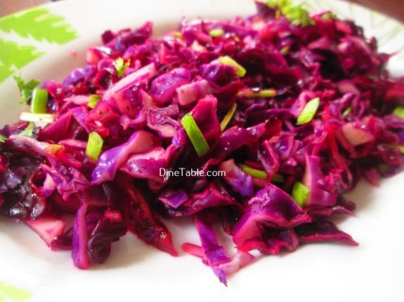 Red Cabbage Detox Salad Recipe / Healthy Salad